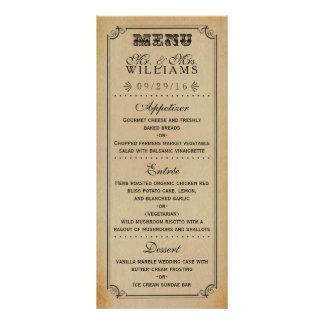 La colección del boda de Steampunk del Victorian Tarjetas Publicitarias A Todo Color