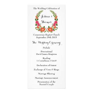 La colección floral moderna del boda de la diseño de tarjeta publicitaria