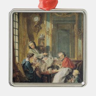 La comida de la tarde, 1739 ornato
