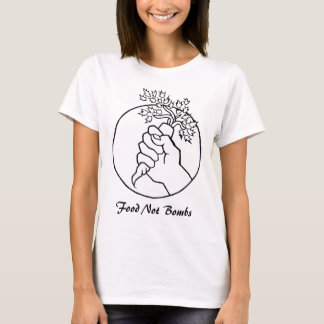 la comida no bombardea las camisetas sin mangas