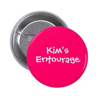 La comitiva de Kim Chapa Redonda De 5 Cm