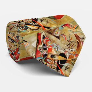 La composición abstracta de Kandinsky Corbatas