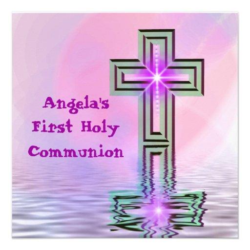 La comunión santa del bonito primero invita comunicados personales