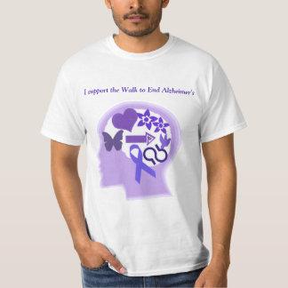 La conciencia de Alzheimer a la vida vivió bien Camiseta