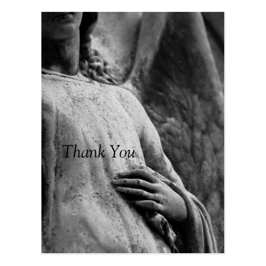 La condolencia conmemorativa cristiana del ángel 3 postal