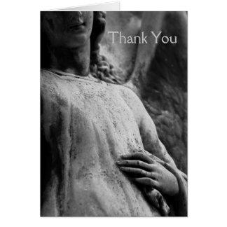 La condolencia del ángel 6 le agradece tarjeta de