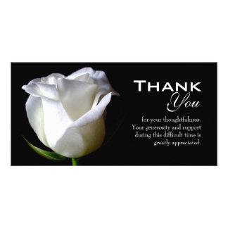 La condolencia/el entierro le agradece tarjeta de