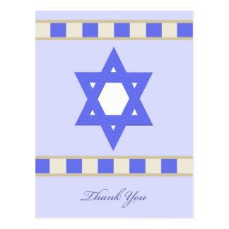 La condolencia judía le agradece postal