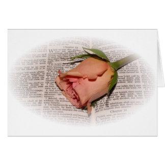La condolencia más profunda tarjeta de felicitación