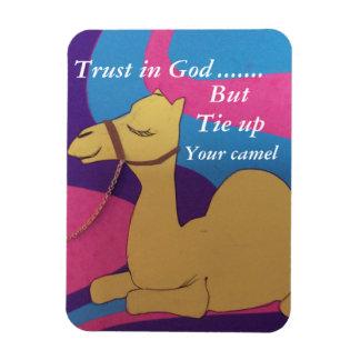 La confianza en dios pero implica su imán del