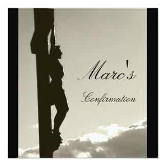 La confirmación de Marc Invitación 13,3 Cm X 13,3cm