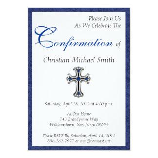 La confirmación invita invitación 12,7 x 17,8 cm