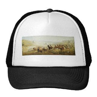 La conquista de la pradera gorras