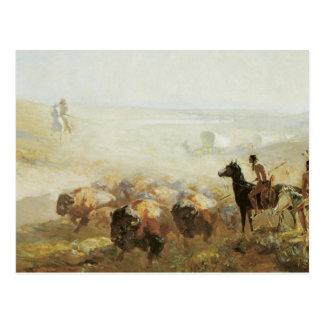 La conquista de la pradera postal