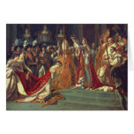La consagración del emperador Napoleon 1 Tarjetón