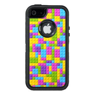 La construcción plástica bloquea el modelo funda otterbox para iPhone 5/5s/SE