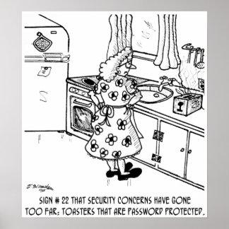 La contraseña de la tostadora posters