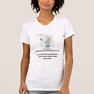 La contraseña del Blonde Camisetas