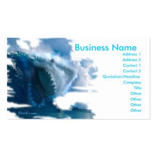 la copia del ghostinmistshark, nombre comercial, d tarjeta de negocio