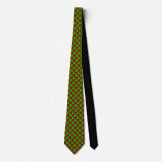La corbata de los hombres de Rhombus™ del navidad