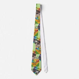 La corbata de los hombres sedosos de la escuela de