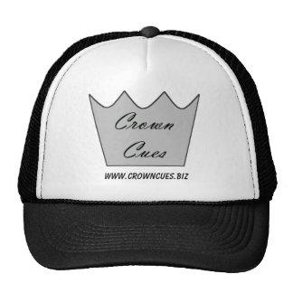 La corona cuenta béisbol o el gorra del camionero