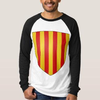La Corona de Aragón de Escudo de Armas de Camisetas