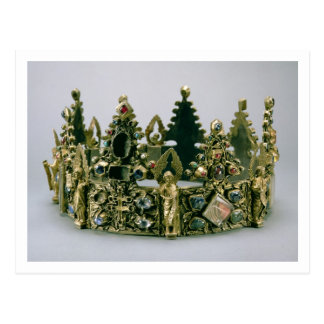 La corona de St. Louis, siglo XIII (plata-cerda Postal