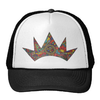 La corona gorros bordados