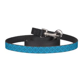 La correa de perro del caleidoscopio de los azules