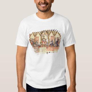 La corte de Alfonso X 'el Wise Camiseta