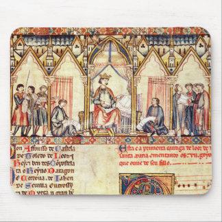 La corte de Alfonso X el Wise Tapetes De Ratones