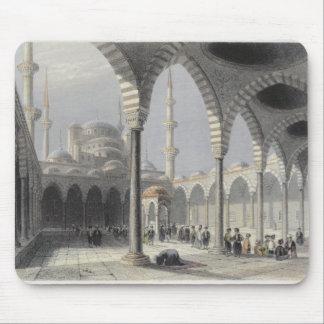 La corte de la mezquita del sultán Achmet, Estambu Alfombrilla De Ratón