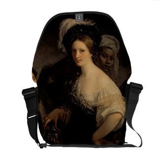La cortesana joven, 1821 bolsas messenger