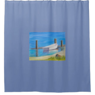 La cortina de ducha del BOTE