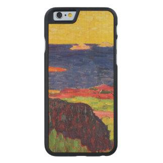 La costa cerca de Carantec Funda De iPhone 6 Carved® De Arce
