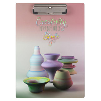 La creatividad de la cerámica de la acuarela nunca carpeta de pinza