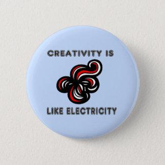 """La """"creatividad es como botón redondo de la"""