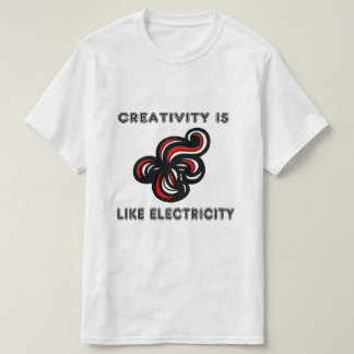 """La """"creatividad es como camiseta del valor de la"""