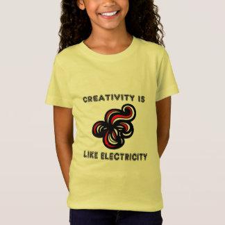 """La """"creatividad es como la camiseta de los chicas"""