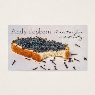 La creatividad está consiguiendo un personalizable tarjeta de negocios