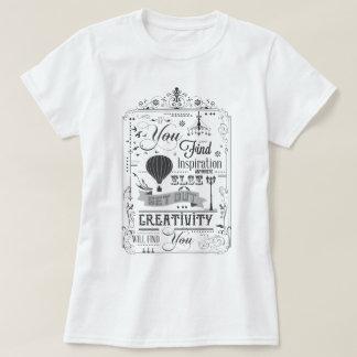 La creatividad le encontrará camiseta