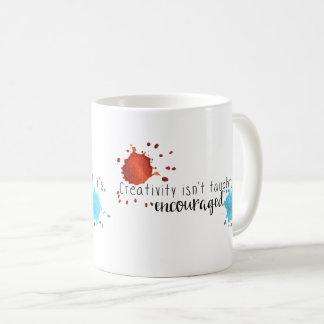 La creatividad no se enseña a la taza