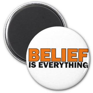 La creencia es todo imanes de nevera