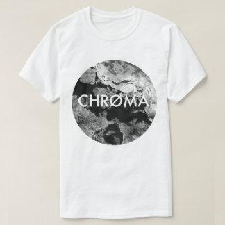 La croma creativa erosiona la camiseta unisex del