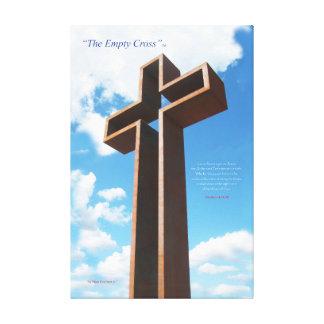"""""""La cruz vacía """" TM 77' impresión de la lona de la"""