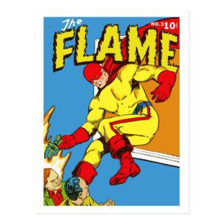 La cubierta de cómic de la llama postal