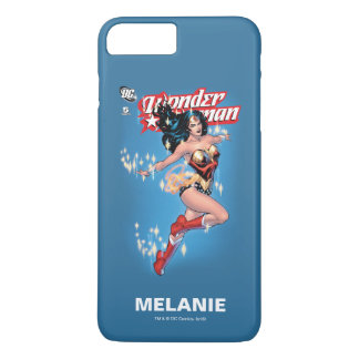La cubierta de cómic de la Mujer Maravilla el   Funda iPhone 7 Plus