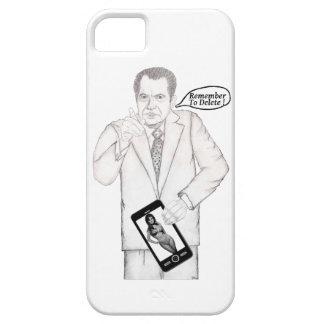 La CUBIERTA del TELÉFONO CELULAR de NIXON iPhone 5 Case-Mate Cárcasa