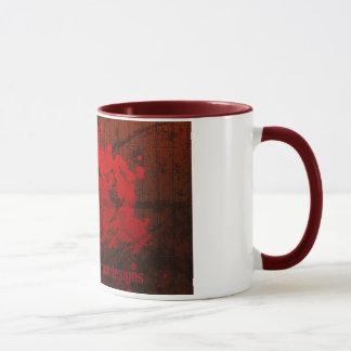 La cucaracha explosiva diseña la taza